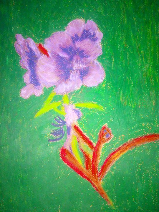 Purple flower - Deekomart