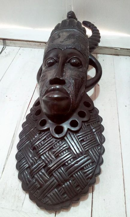 African traditional mask - wisdom paintings
