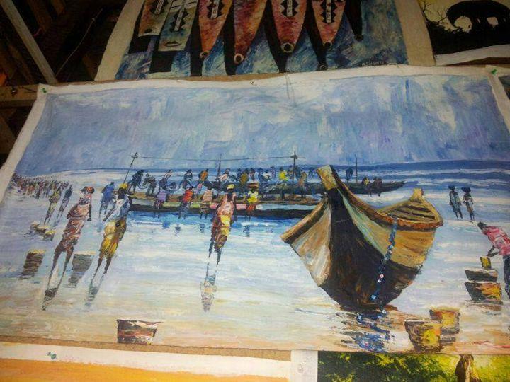 fisher men - wisdom paintings