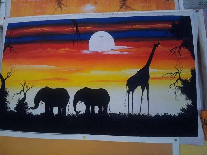 Animal Reserve - wisdom paintings