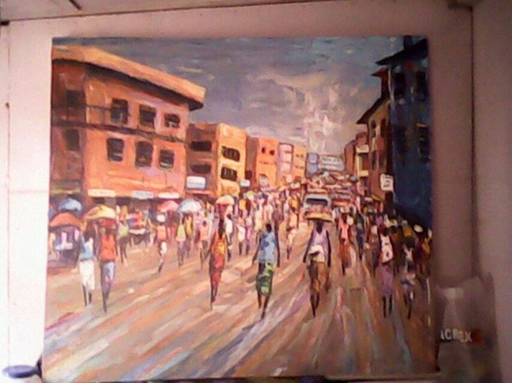 City - wisdom paintings