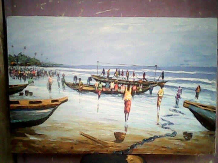Fishermen - wisdom paintings