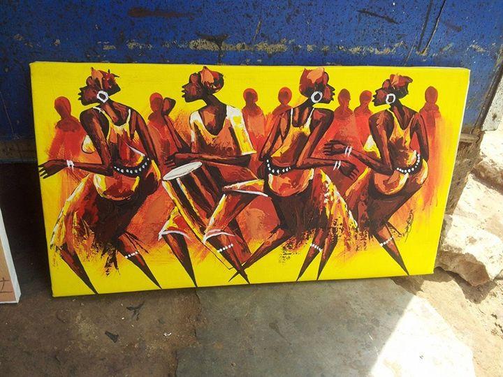 African dances - wisdom paintings
