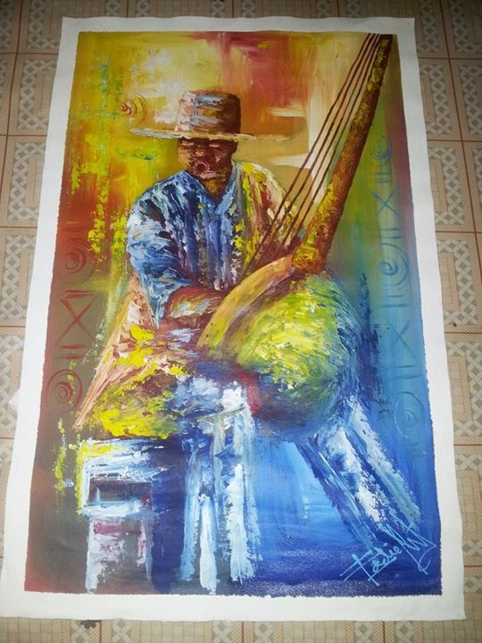 African musician - wisdom paintings