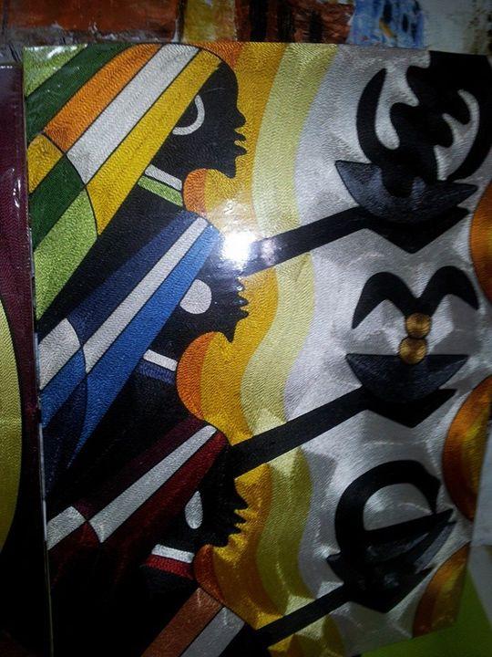 Ghana symbols - wisdom paintings