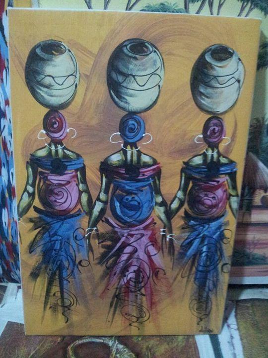 African women . - wisdom paintings