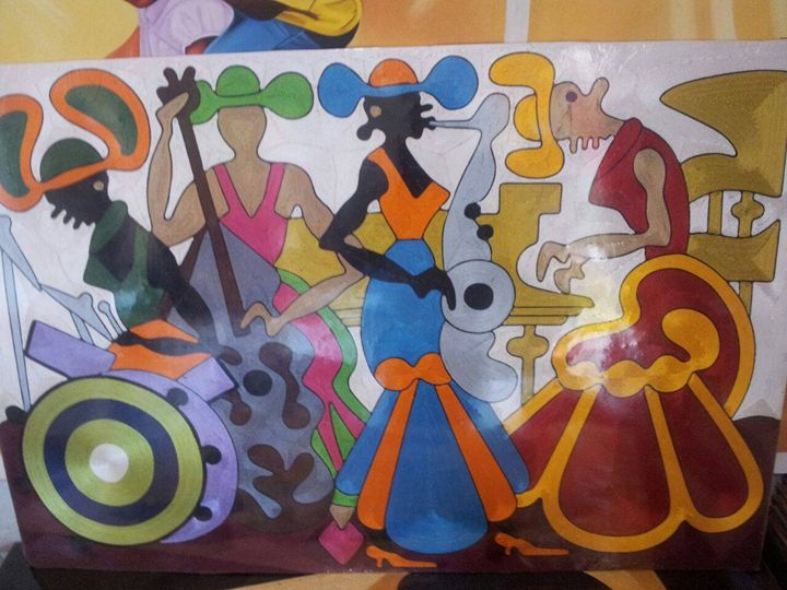 Musicians - wisdom paintings