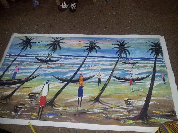 Fishermem - wisdom paintings