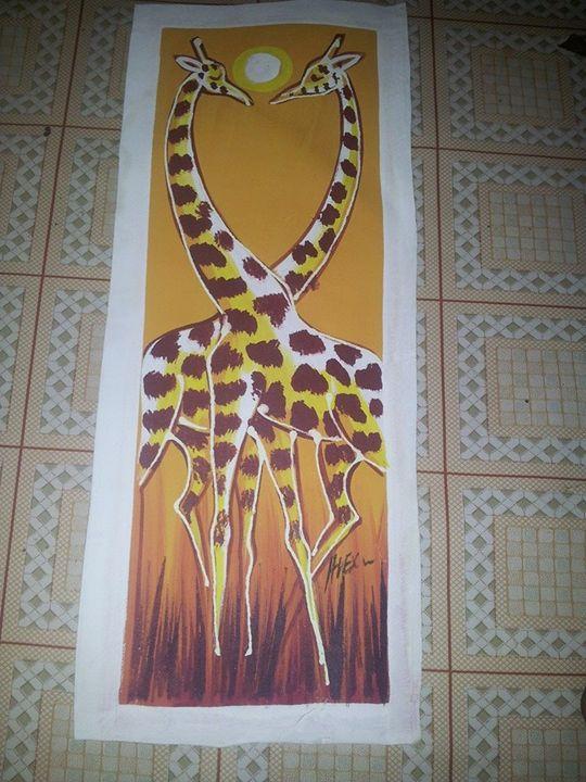 giraff Art - wisdom paintings