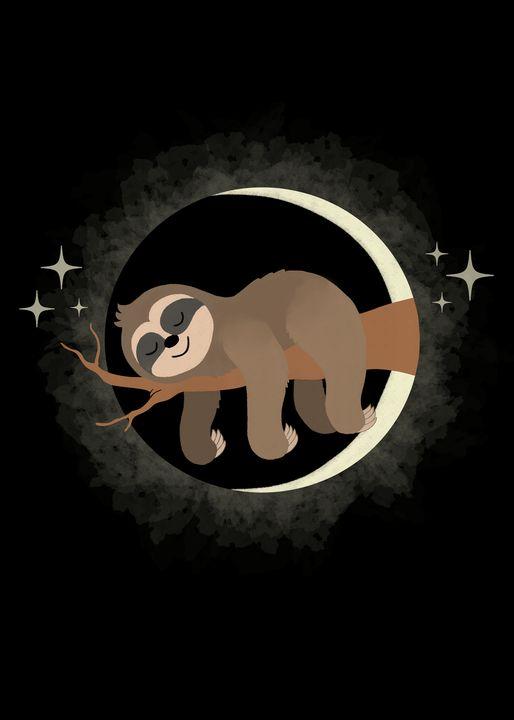 Lazy Sloth Solar Eclipse - Pako