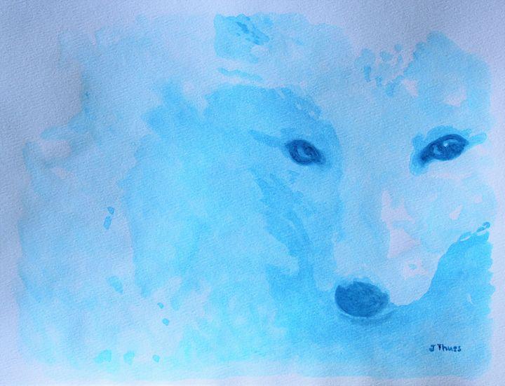 Arctic Fox - Jane Thuss Art