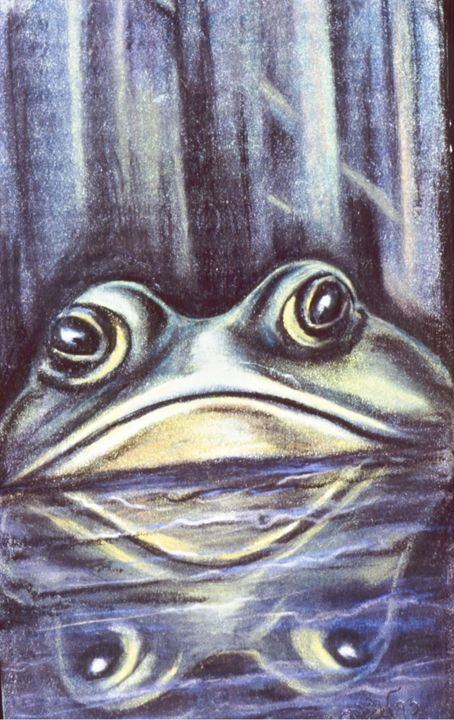 'Ribbit' - Ron Godley