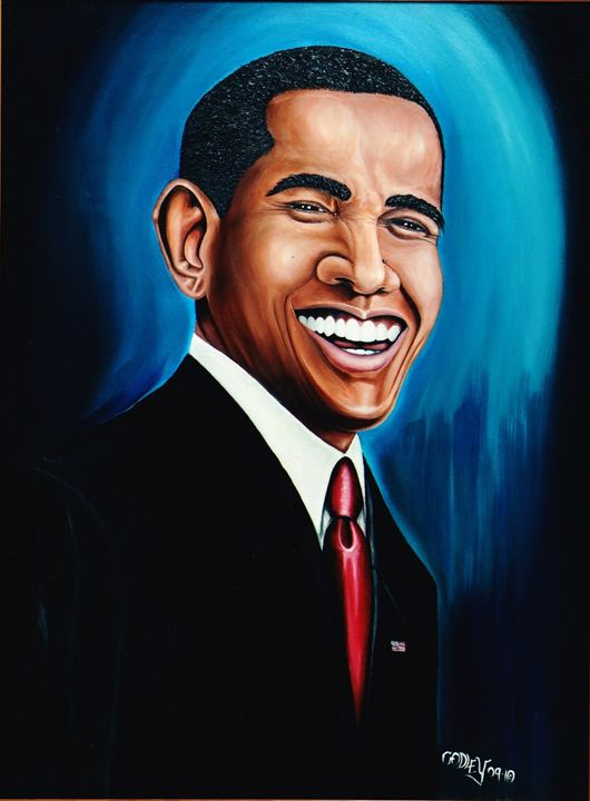 President Barack Obama - Ron Godley