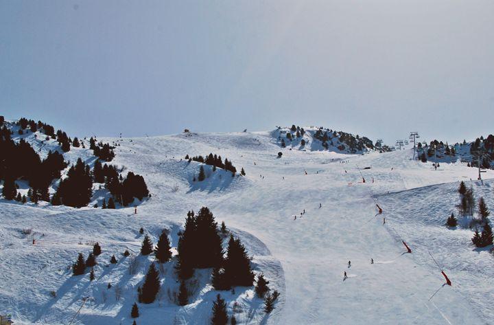 Skiing Bou Blanc - Hellz