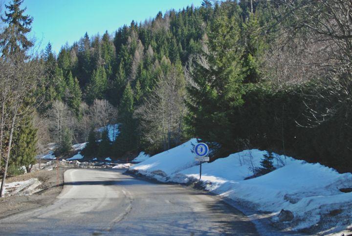 Mountain Roadside - Hellz