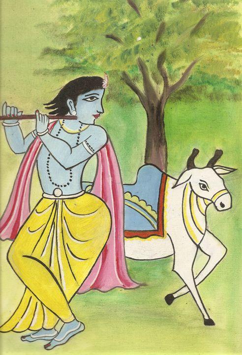 Lord Krishna - APRICOT Studio
