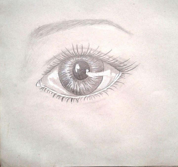Deep window - Shy Drawing