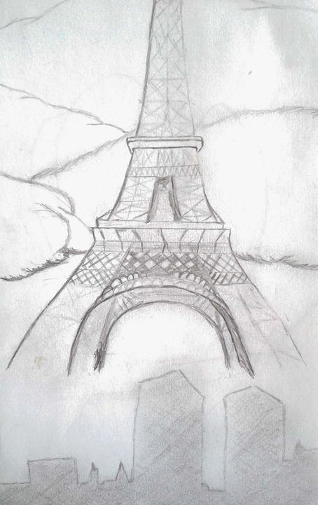 Pray for Paris - Shy Drawing