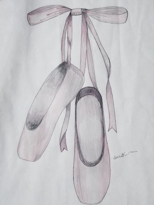Ballet shoes - Daydream Wall Art