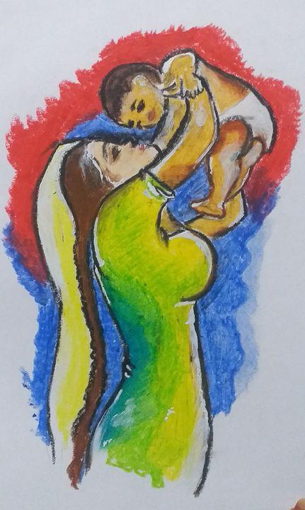 my fondfull mom - my beautifull paintings