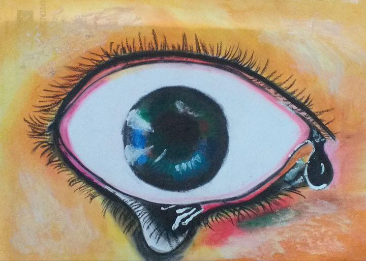 painfull eye - my beautifull paintings