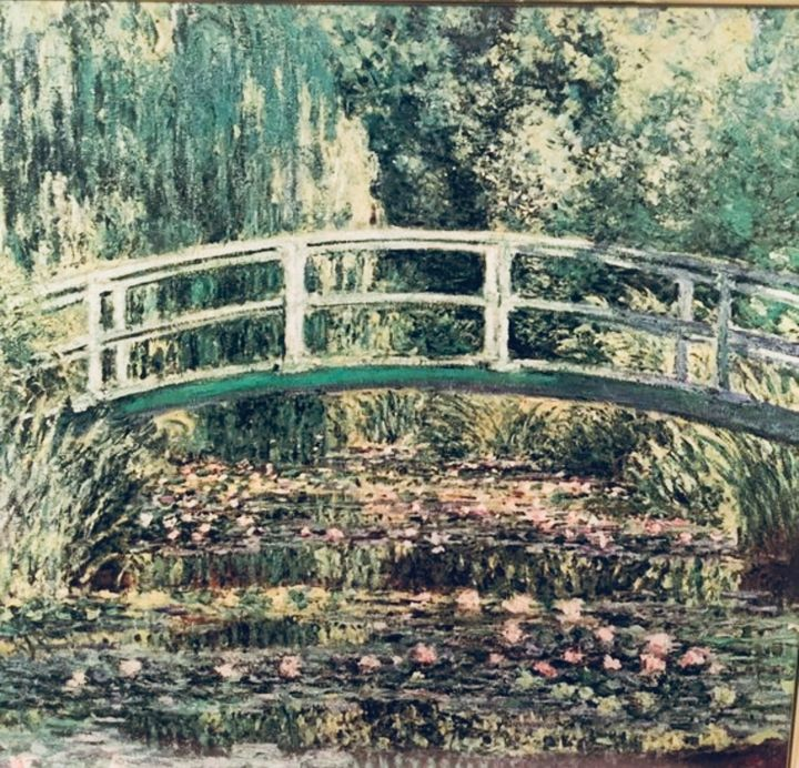 Japanese Footbridge by Claude Monet - buyerStellar