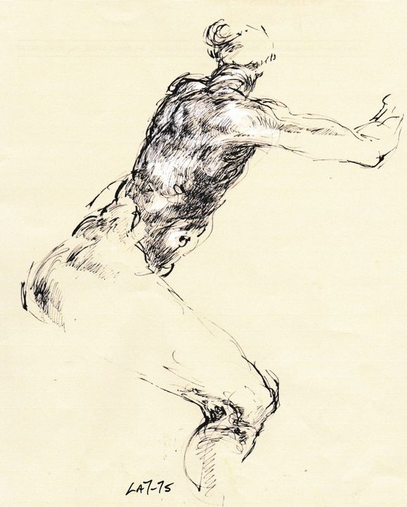 Figure study LA7-75 - Edgar Pillinger