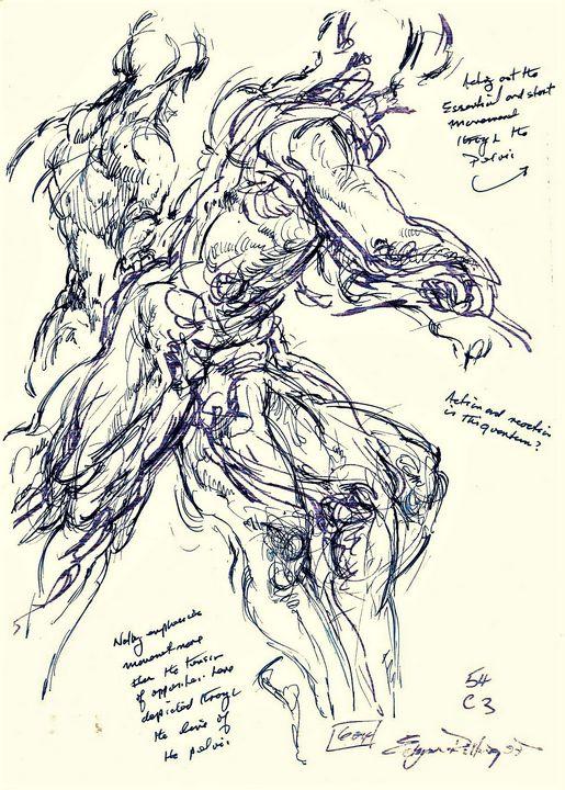 Male archer LA3-99 - Edgar Pillinger