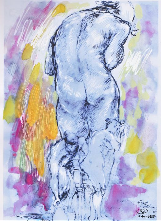 Three figures - Edgar Pillinger