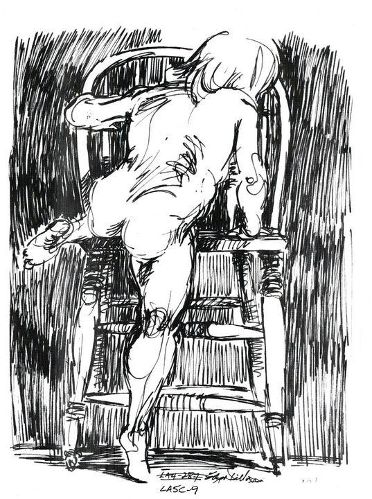 Child climbing onto chair - Edgar Pillinger