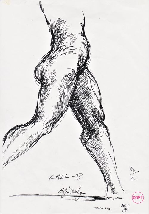 Figure study - Edgar Pillinger