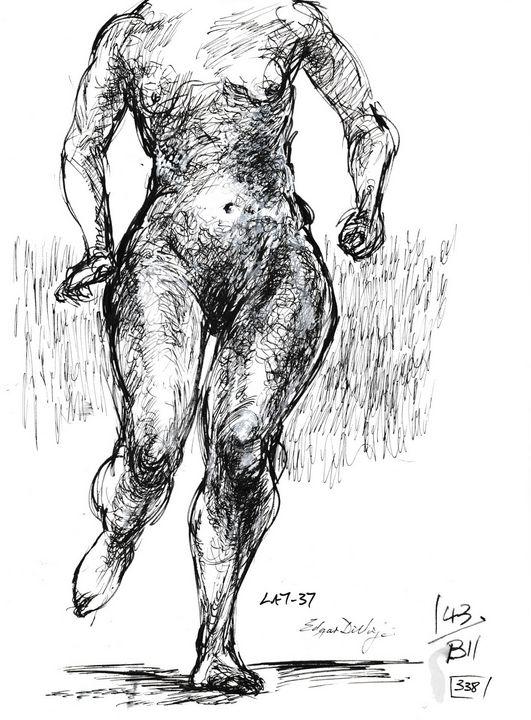 Female running LA7-37 - Edgar Pillinger