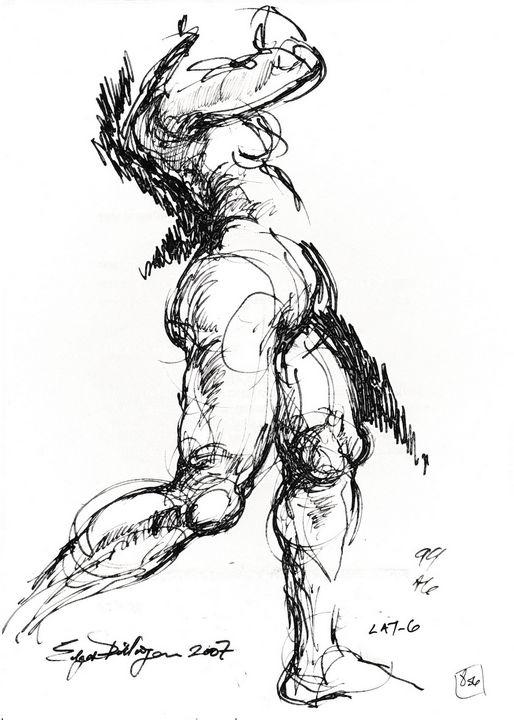 Woman LA7-6 - Edgar Pillinger