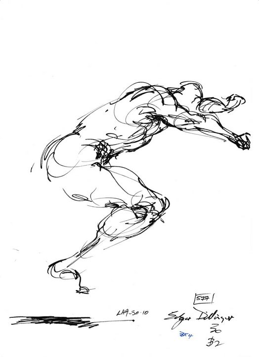 Man jumping - Edgar Pillinger