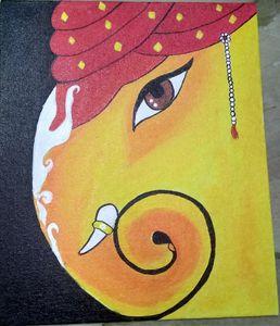 Ganesha paining