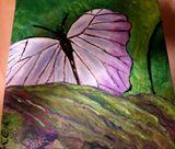 Pastels and natural greens used.
