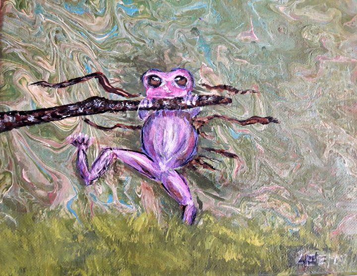 Hang on Frog - Nicole's Closet