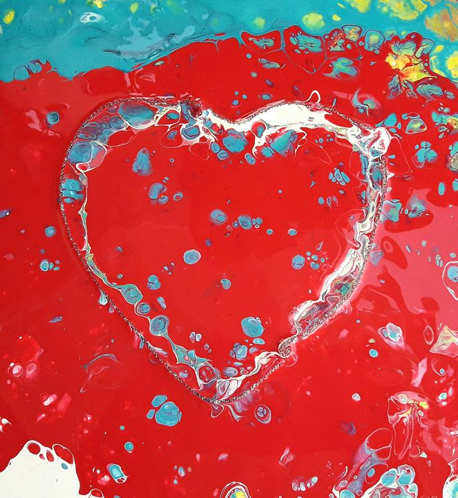 Heart Art - Nicole's Closet