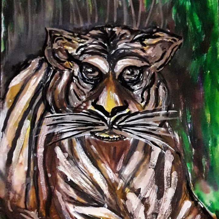 Hungry Tiger - Nicole's Closet