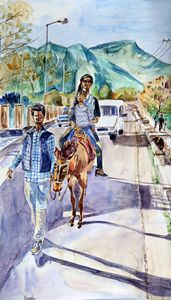 Horse ride in Kashmir