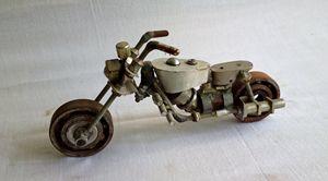 recycle metal bike
