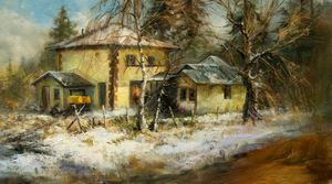 The Old Pump House By Stefan Baumann