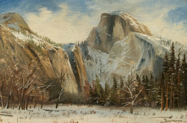 Christmas Day in Yosemite - Stefan Baumann