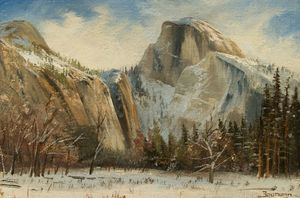 Christmas Day in Yosemite - Stefan Baumann