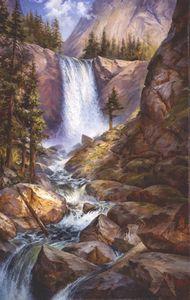 Vernal Falls Yosemite California