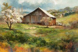 Spring Bloom Ashland Barn