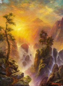 Sunset at Box Canyon, Mt. Shasta CA