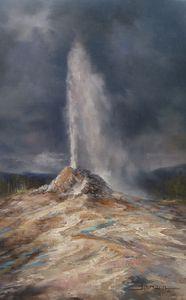 """Giant Geyser""  Yellowstone NP - Stefan Baumann"