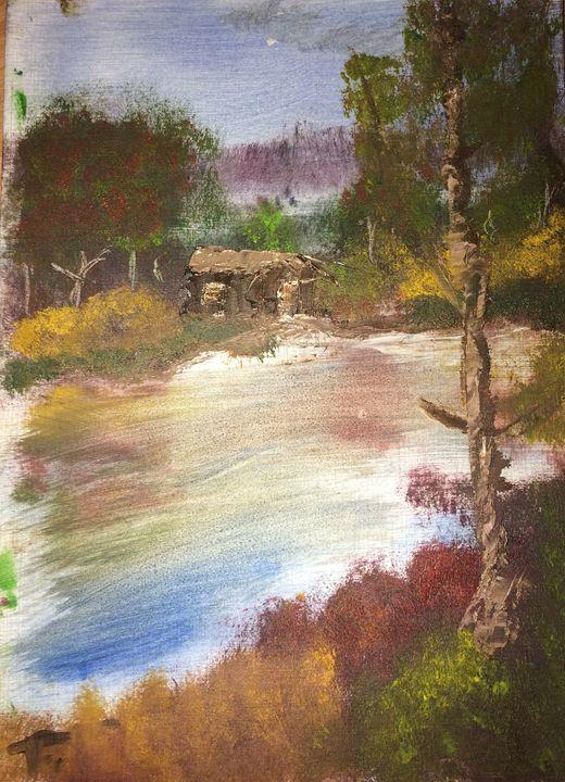 Cabin by the lake - Tara Finnegan