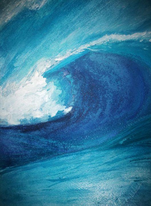 ocean wave different lighting - Alenenok_art